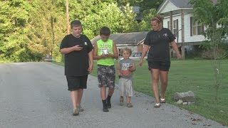 Harlan County family rescues injured dog while playing Pokemon Go