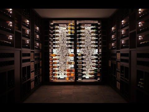 Degré 12 - Bespoke Wenge Wine Cellar - Aix-en-Provence 2015
