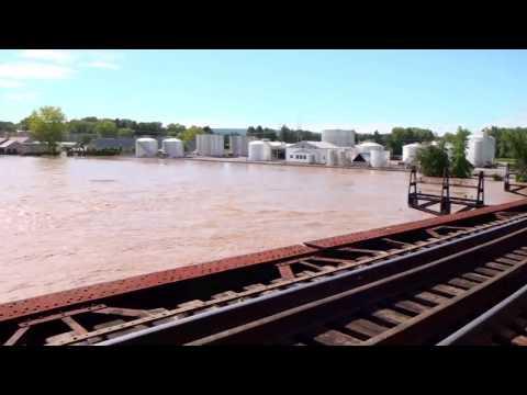 Mohawk River Flooding - Hurricane Irene - Schenectady