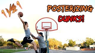 THE MOST EPIC 1v1 EVER!! POSTERIZING DUNKS ONLY!!