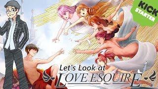 Let's Look at Love Esquire [Kickstarter Dating Sim RPG!]