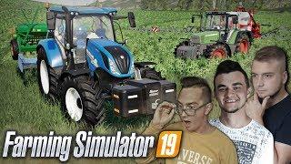 """Farming Simulator 19 """"od Zera do Farmera"""" #7  ✔ Oprysk na Chwasty & Siewy Rzepaku"""