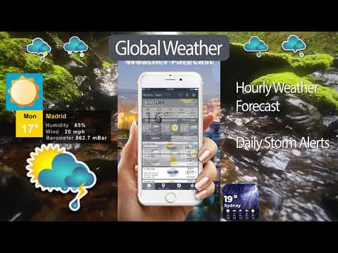 Global Weather Report 2019 & Weather Channel Live - Apps on