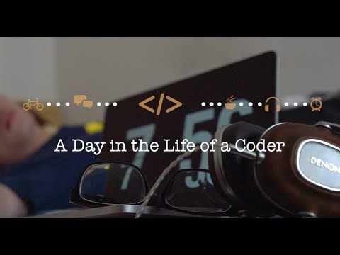 A Day in the Life of a Coder  一个程序猿的一天