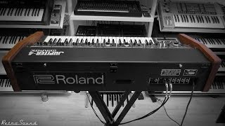Roland Jupiter-4 Analog Synthesizer (1978) RetroSound Soundscapes