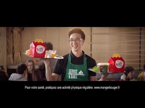 Publicité 2018 - McDonald's  - Service à table