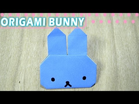 EASY ORIGAMI for kids [BUNNY]