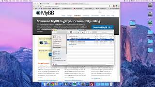 How to install a MyBB Forum