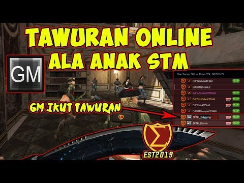 TAWURAN ONLINE GM ZEPETTO !! - POINTBLANK INDONESIA