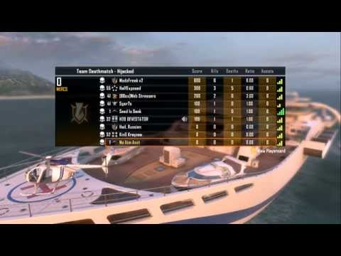 Black Ops 2 Modded Zombies On Multiplayer Lobby! | (Hijacked Zombies Modded Minigame)