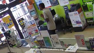 Watch robbery suspect pray after getting locked in store