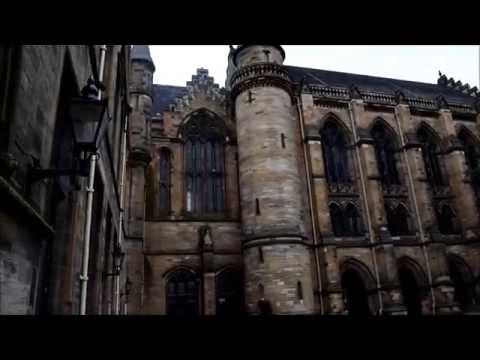 Tour at University of Glasgow (Part 1 - East Quadrangle)