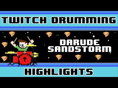 Darude  Sandstorm Drum   The8BitDrummer