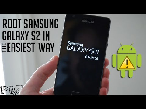 Easiest Way to Root Samsung Galaxy S2 GT-I9100! (ICS)