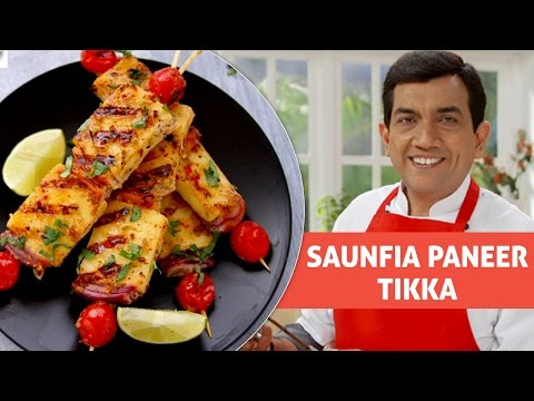 Saunfia Paneer Tikka | सौंफिया  पनीर टिक्का | With Master Chef Sanjeev Kapoor