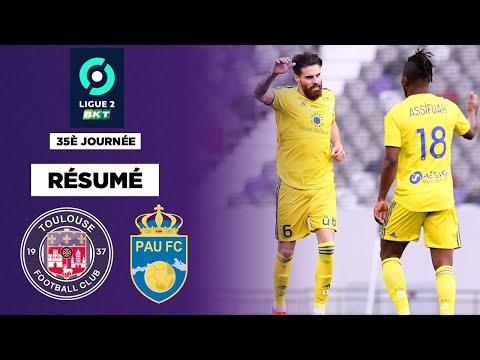 Résumé : Toulouse coince, Pau quasi sauvé après un match fou