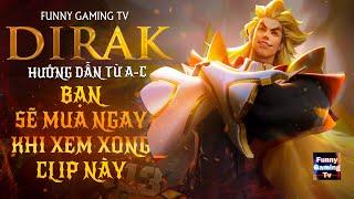 LIÊN QUÂN | Trải nghiệm vị tướng Pháp Sư mới vừa ra mắt Dirak cùng FUNNY GAMING TV