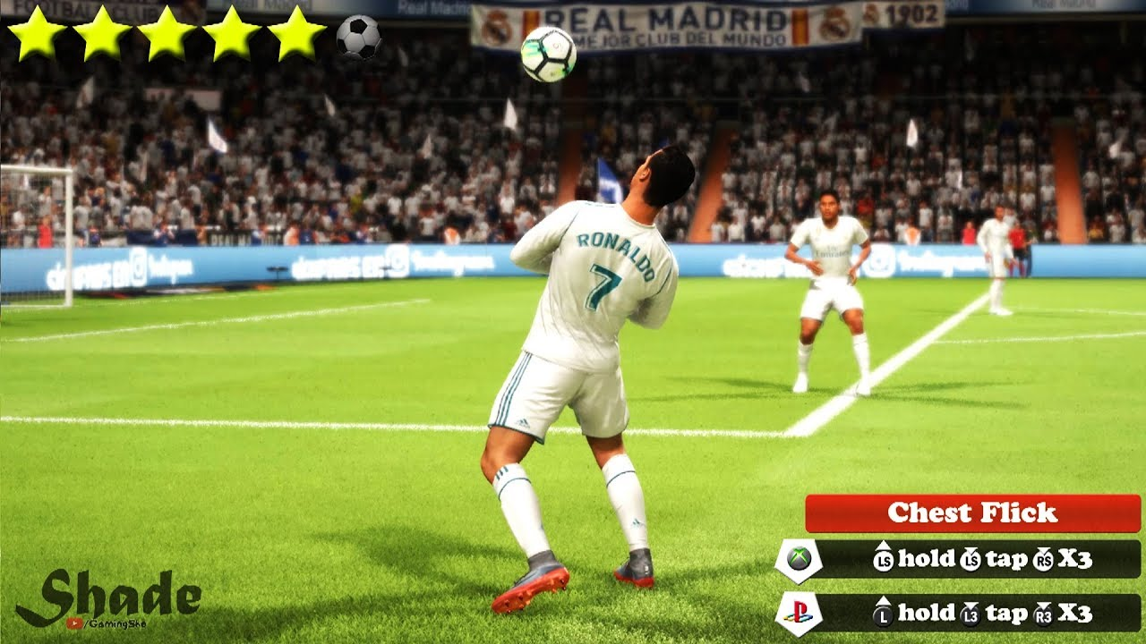 FIFA 18 5-Star Skill Players - Skill Moves, Tricks on PS4 Xbox One