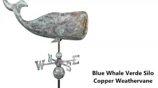 Nautical And Ocean Themed Copper Weathervanes