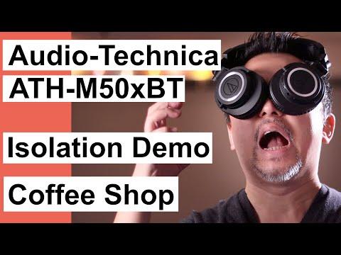 Audio-Technica ATH-M50xBT Sound Demo-Coffee Shop AAC