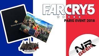 Far Cry 5 - Event Przedpremierowy Paryż 2018