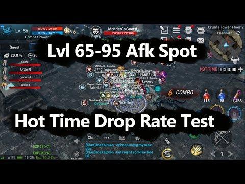 Lineage 2 Revolution lvl 100+ Farming or Afk Spot