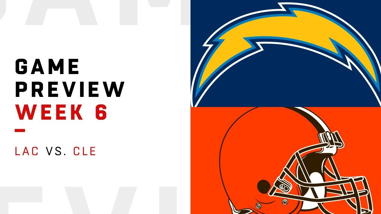 Los Angeles Chargers vs. Cleveland Browns | Week 6 Game ...