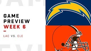 Los Angeles Chargers vs. Cleveland Browns | Week 6 Game Preview | NFL Playbook