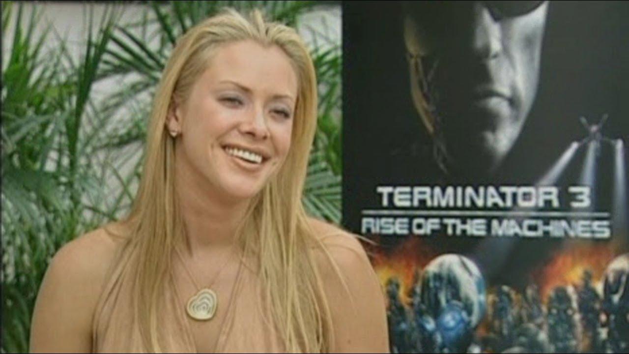 Kristanna Loken Terminator 3 Interview - YouTube