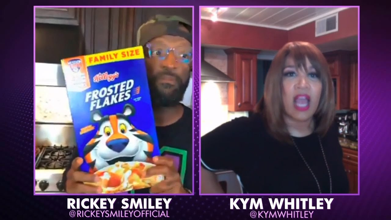 Rickey Smiley's Macaroni & Cheese AND Cereal? - Quarantine Cook-Off