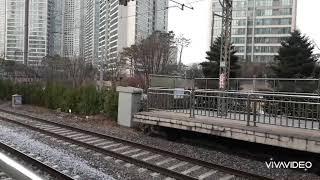 고추장7530호,7482호견인 화물열차