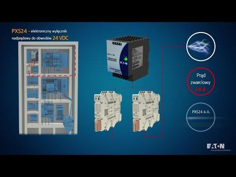 Elektroniczny wycznik nadprdowy PXS 24 Eaton  aplikacje