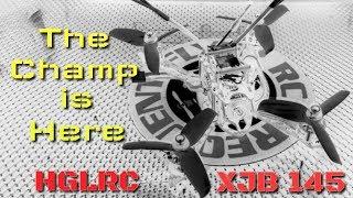 HGLRC XJB 145 Quick Review & Flight