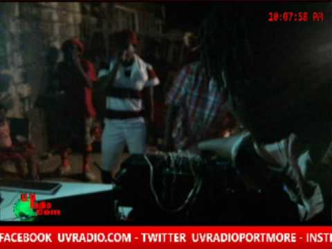 UV RADIO OUTDOOR BROADCASTING  AT MONA COMMON JAMAICA ( DUGSY RANKS - FIRE SQUEEZE AND MORE)