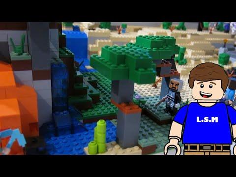 LEGO Minecraft World Update (savanna, Cave, And More)