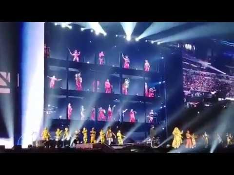 Fan provoca caos en el concierto de Beyoncé y Jay-Z