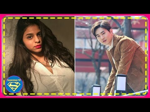 Shah Rukh Khan's daughter Suhana Khan reveals the one actor she'd want to date [EXO Suho]