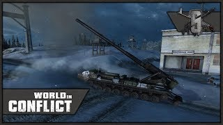 Heavy Artillery and Mi-24 Support - World in Conflict - Mission 14 (USSR)