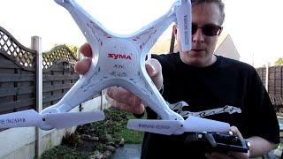 Syma X5C Quadcopter - Guide, Intro, Review & Flight Demo