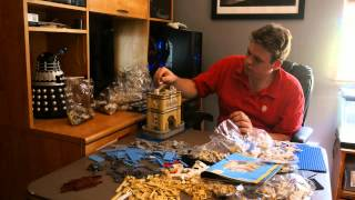 Let's Build Lego Tower Bridge 10214 -- Unboxing And Time Lapse