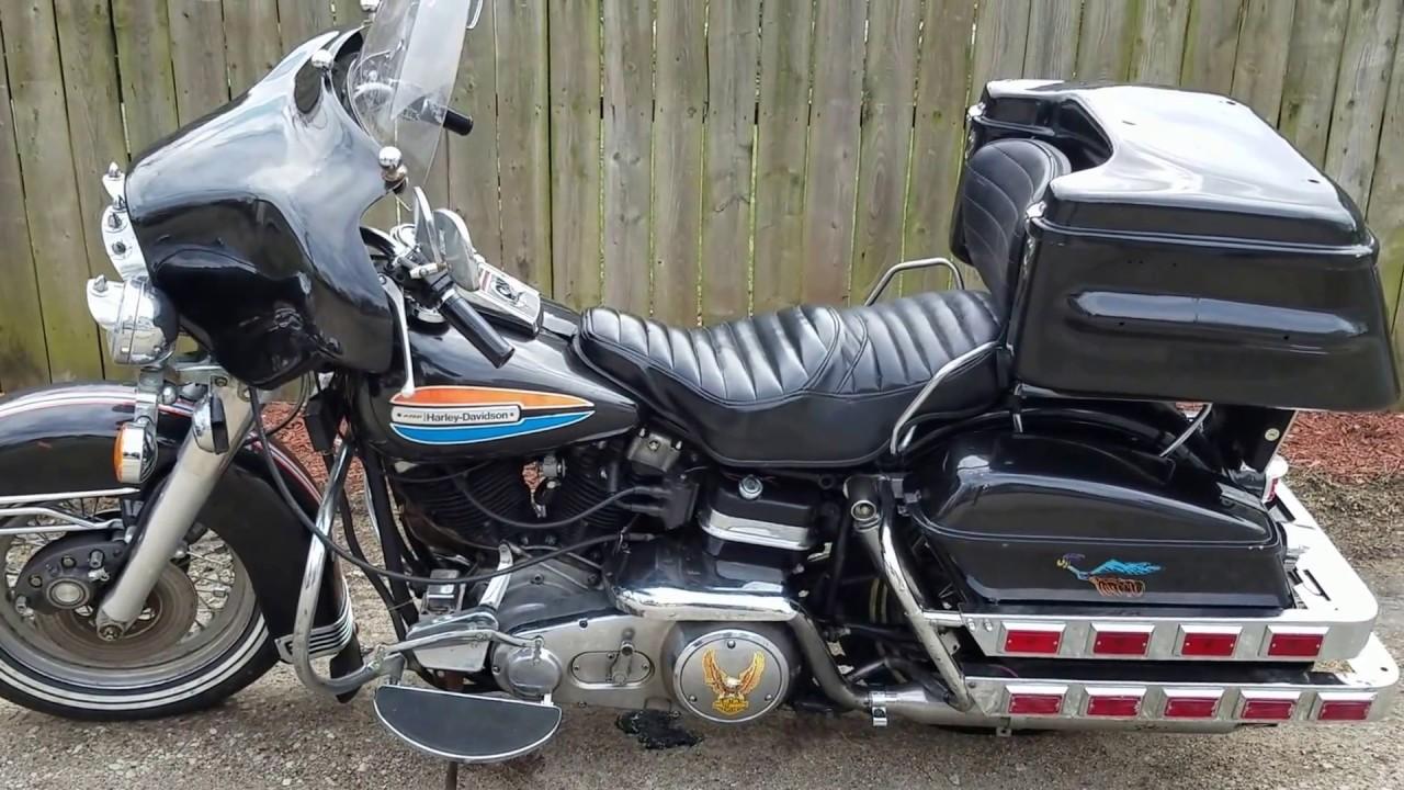 1972 Harley Davidson Flh 1200 Full Dresser