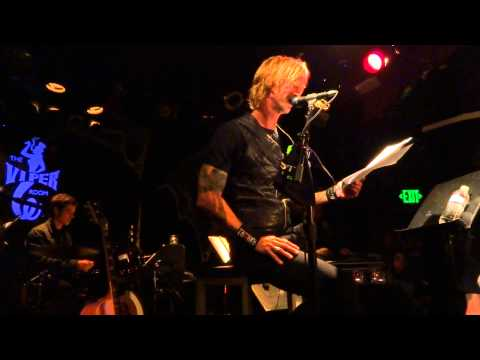 "Duff McKagan ""Its So Easy And Other Lies"" book reading @ Viper Room 10/15/12"