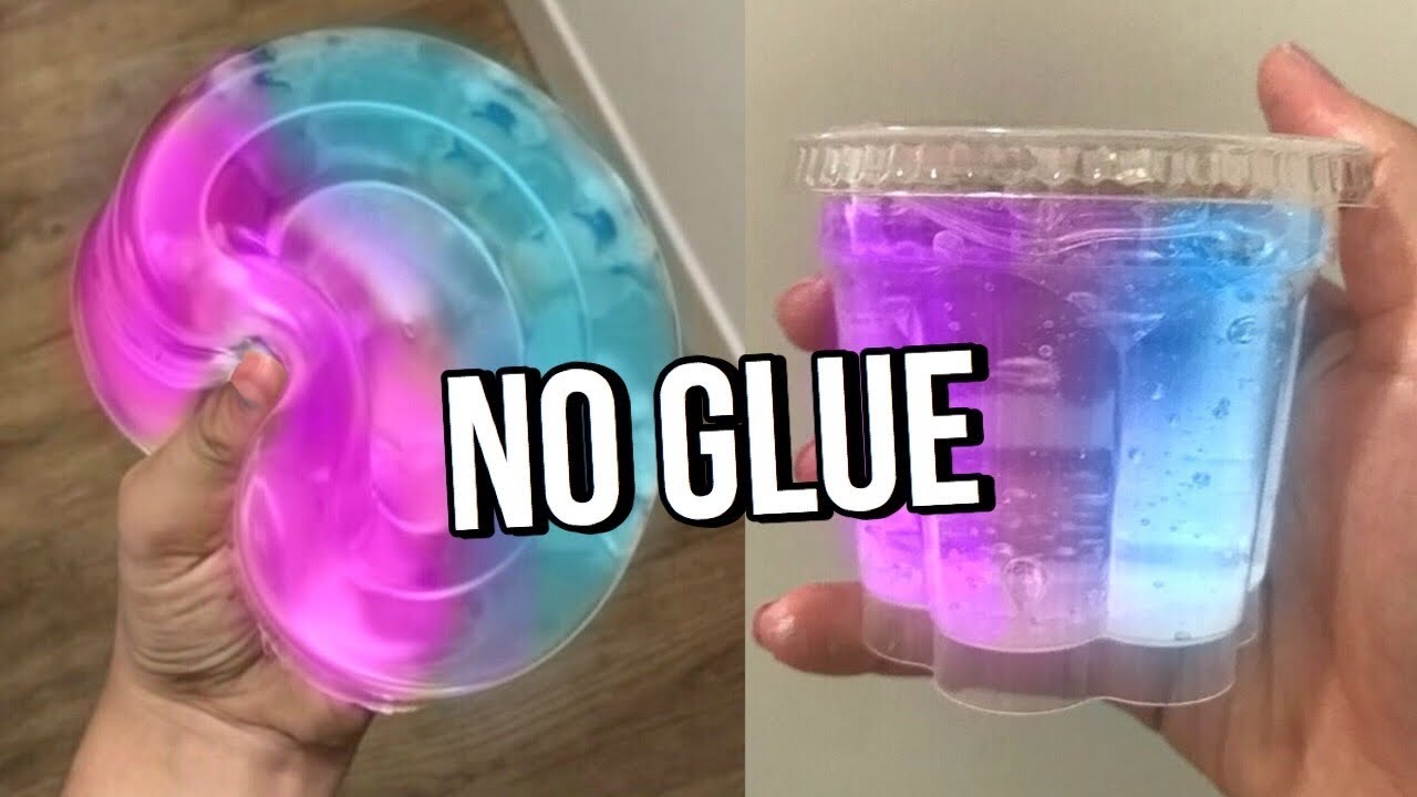 Testing VIRAL NO GLUE SLIMES! How to make DIY NO GLUE slimes, WATER SLIME & 1 ingredient slime