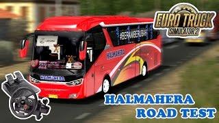 Euro Truck Simulator 2   Bus Mod Indonesia Road Test Halmahera Di Tengah Perjalanan Malah Mogok