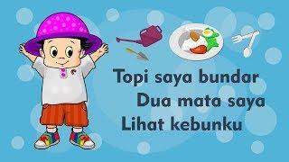 Topi Saya Bundar - Dua Mata Saya - Lihat Kebunku - Kumpulan Lagu Anak Indonesia Populer