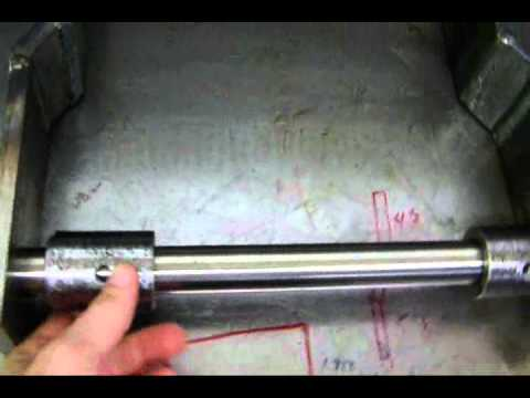 ford superduty dump bed build #9. rear hinges - youtube