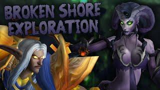Parkour Exploration & PvE on the Broken Shore (Part 2) - Swifty Plays WoW Legion Beta