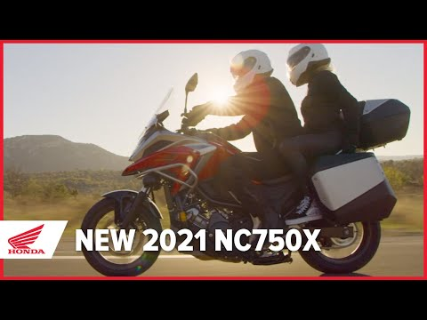 The New 2021 NC750X Launch Film