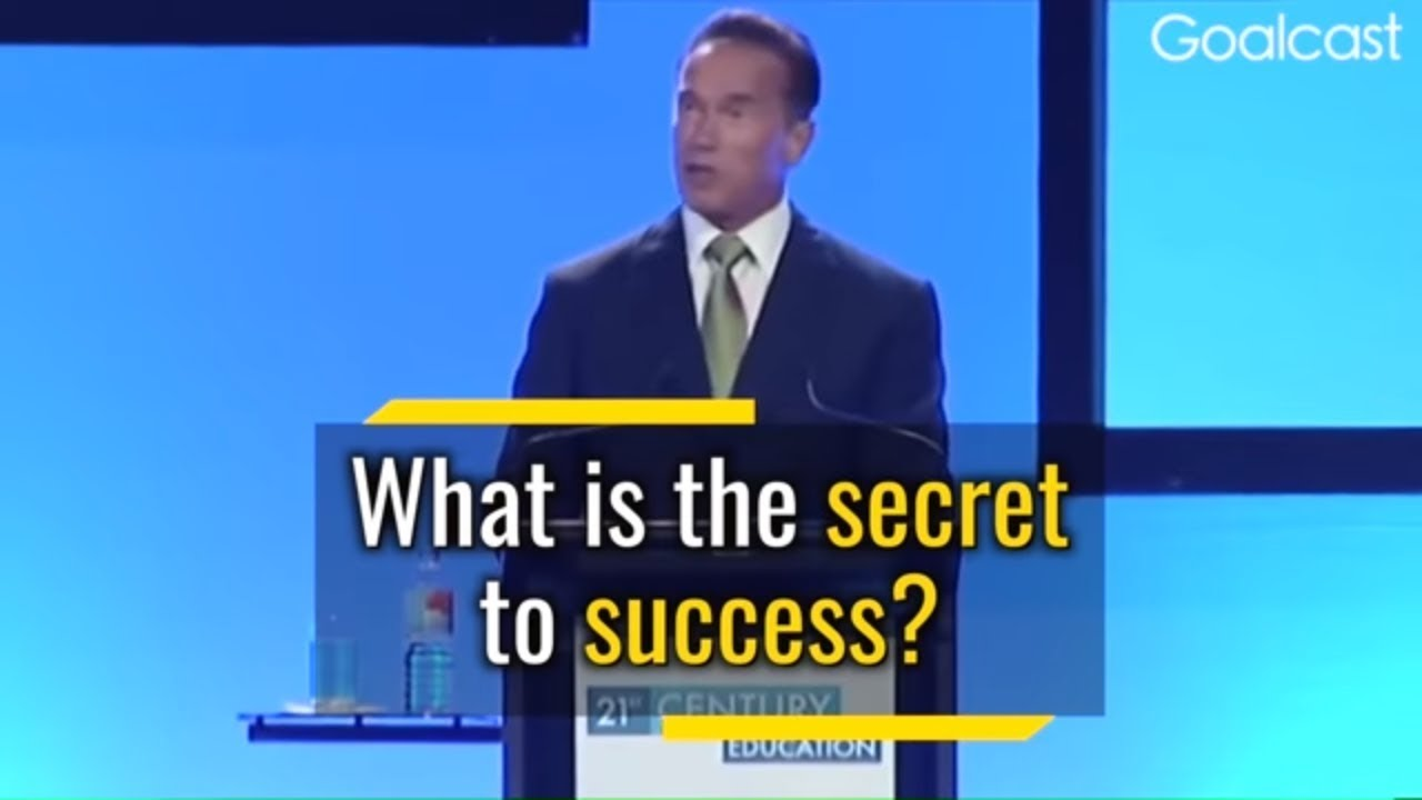 5 Secrets To Get Success in Life By Arnold | Motivational Video