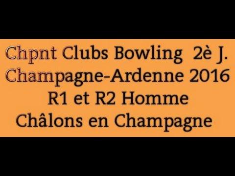 2e journée Championnat Clubs Bowling R1 et 2 Homme - 5 juin 2016